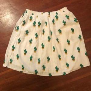 NWT ModCloth Cactus Skirt